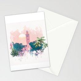 Marrakech La Koutoubia Stationery Cards
