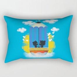 Cruisin' in the Art of Love Rectangular Pillow