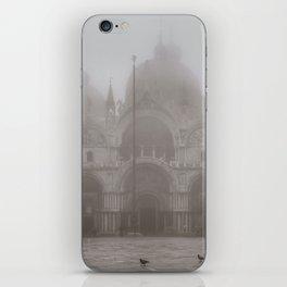 San Marcos Basilica at Piazza San Marcos, Venice, Italy iPhone Skin
