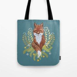 Fox Brown Tote Bag