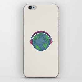 World Music iPhone Skin