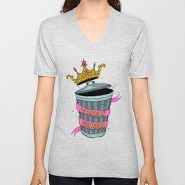 Trash Queen Unisex V-Neck