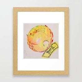 Ticket Turkey Framed Art Print