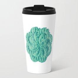 Jade Floral Mandara Travel Mug