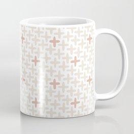 Cross Stich, Blush Pink Coffee Mug