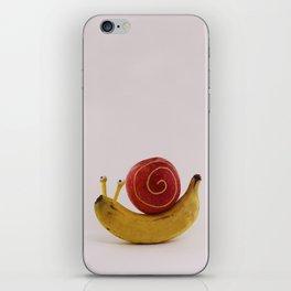 Snail fruit iPhone Skin