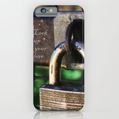 ~Lock Your Love Up and Throw Away the Key~ iPhone 6s Slim Case