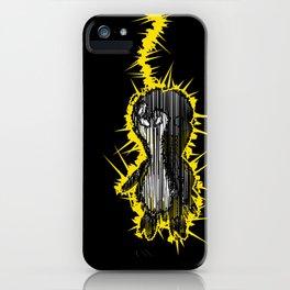 Fried Penguin iPhone Case