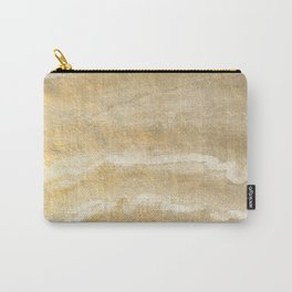 Marble motion - gold Carry-All Pouch