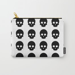 White Out Skullz Carry-All Pouch