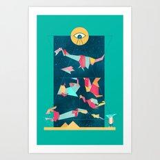 Game On! Art Print