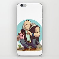 kirby iPhone & iPod Skins featuring Roughneck Kirby by Sara Goetter