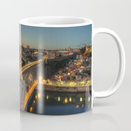 Porto twylight bridge Coffee Mug
