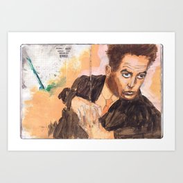 Egon in the Style of Egon Art Print