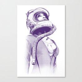 Space Woman Canvas Print