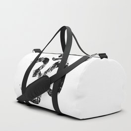 Om Rubber Stamp Duffle Bag