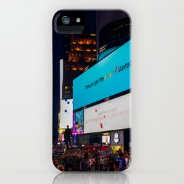 Iconic Time Square iPhone Case