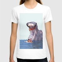 hippo T-shirts featuring Hippo by MGNFQ