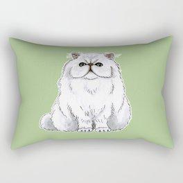Persian cat Rectangular Pillow
