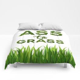 Ass to Grass Comforters