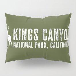 Deer: Kings Canyon, California Pillow Sham