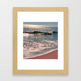 Sparkle Morning Sea Framed Art Print