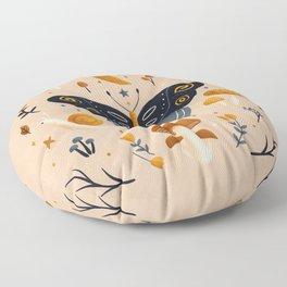 Fantasy Forest | Earthy Palette Floor Pillow