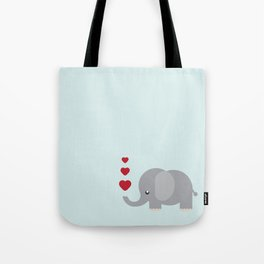Sweet Elephant Tote Bag