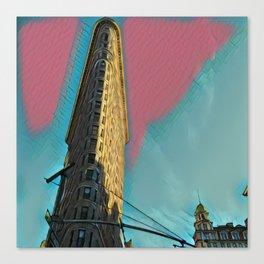 New York FlatIron Fine Art 5 Canvas Print