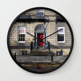 Building New Town Edinburgh Wall Clock