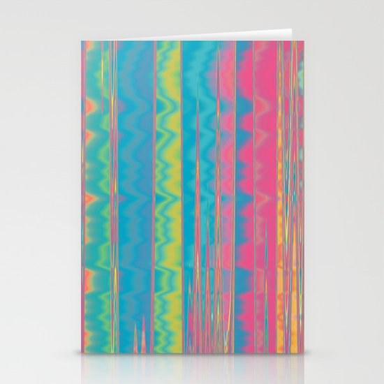 Crazy Colors.  Stationery Cards