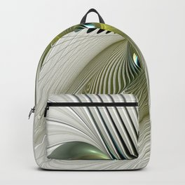 Fractal Have A Look, Modern Abstract Fantasy Backpack
