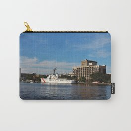 City Across The River Carry-All Pouch
