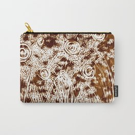 Night Garden Burned Umbra Carry-All Pouch