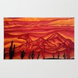 Camelback Mountain Phoenix, AZ Rug