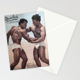 Muscles Magazine Stationery Cards