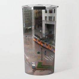 Milan Metro Tram Travel Mug