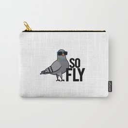So Fly Cute Pigeon Pun Carry-All Pouch