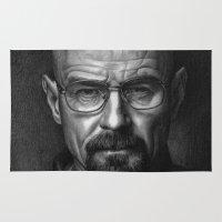 heisenberg Area & Throw Rugs featuring Heisenberg by Mike Robins