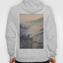 Mountain of trees Hoody