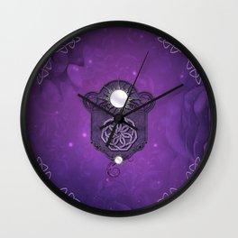 Elegant decorative celtic knot Wall Clock