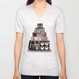 Love Is Louder Unisex V-Neck