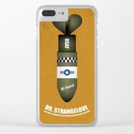 Dr Strangelove - Alternative Movie Poster Clear iPhone Case