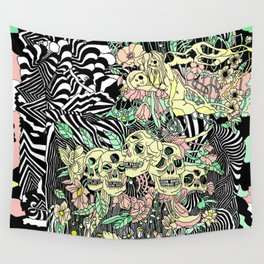SPRING CYCLE Wall Tapestry
