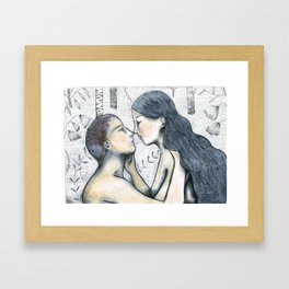 lovers 2 Framed Art Print