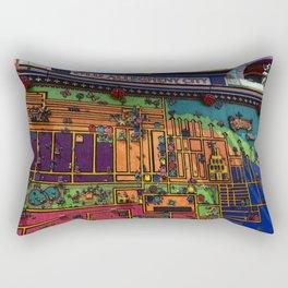Randyland Funhouse Rectangular Pillow