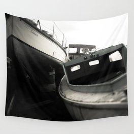 Boat Cemetery Wall Tapestry