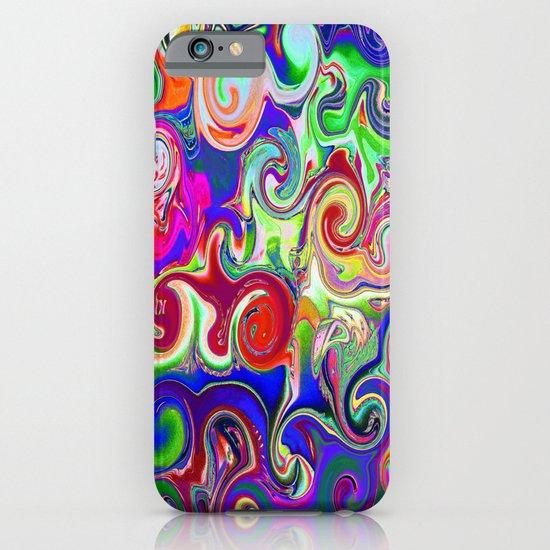 Neon Van Gogh Sky iPhone & iPod Case