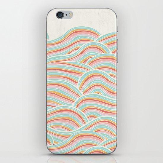 Summer Sea Waves iPhone & iPod Skin