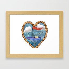You Rock my Boat Framed Art Print